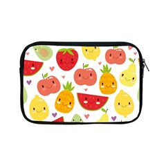 Happy Fruits Pattern Apple Ipad Mini Zipper Cases by allthingseveryday