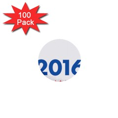 Wtf? 2016 1  Mini Buttons (100 Pack)  by dreiser