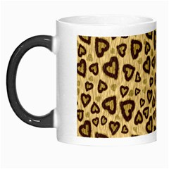 Leopard Heart 01 Morph Mugs by jumpercat