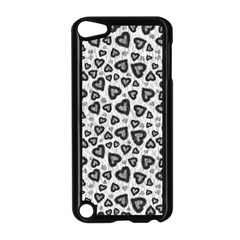 Leopard Heart 02 Apple Ipod Touch 5 Case (black)