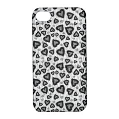 Leopard Heart 02 Apple Iphone 4/4s Hardshell Case With Stand by jumpercat