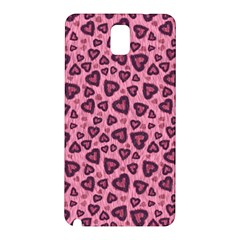 Leopard Heart 03 Samsung Galaxy Note 3 N9005 Hardshell Back Case by jumpercat