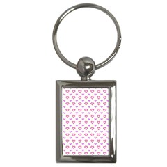 Pixel Hearts Key Chains (rectangle)  by jumpercat