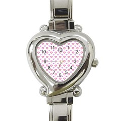 Pixel Hearts Heart Italian Charm Watch by jumpercat