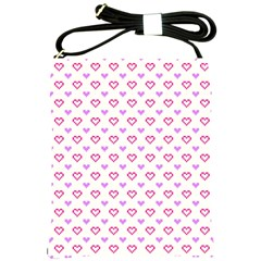 Pixel Hearts Shoulder Sling Bags