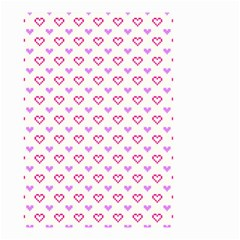 Pixel Hearts Small Garden Flag (two Sides) by jumpercat