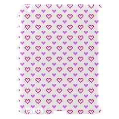 Pixel Hearts Apple Ipad 3/4 Hardshell Case (compatible With Smart Cover) by jumpercat