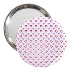 Pixel Hearts 3  Handbag Mirrors by jumpercat