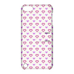 Pixel Hearts Apple Ipod Touch 5 Hardshell Case With Stand by jumpercat