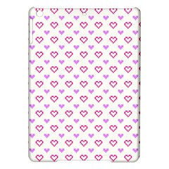 Pixel Hearts Ipad Air Hardshell Cases by jumpercat