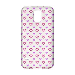 Pixel Hearts Samsung Galaxy S5 Hardshell Case  by jumpercat
