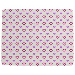 Pixel Hearts Jigsaw Puzzle Photo Stand (rectangular)