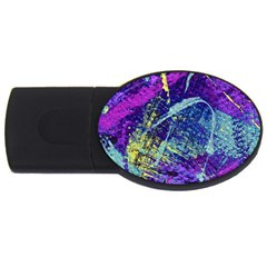 Ink Splash 01 Usb Flash Drive Oval (2 Gb) by jumpercat