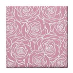 pink peonies Tile Coasters Front