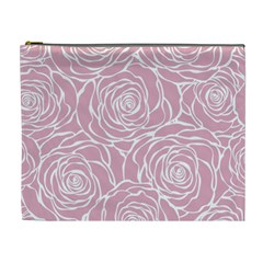 Pink Peonies Cosmetic Bag (xl) by 8fugoso