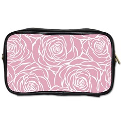 Pink Peonies Toiletries Bags 2 Side by 8fugoso