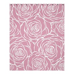 Pink Peonies Shower Curtain 60  X 72  (medium)  by 8fugoso