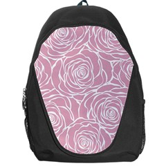 Pink Peonies Backpack Bag by 8fugoso