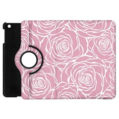 Pink Peonies Apple Ipad Mini Flip 360 Case by 8fugoso