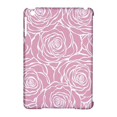 Pink Peonies Apple Ipad Mini Hardshell Case (compatible With Smart Cover) by 8fugoso