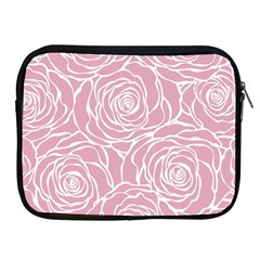 Pink Peonies Apple Ipad 2/3/4 Zipper Cases by 8fugoso