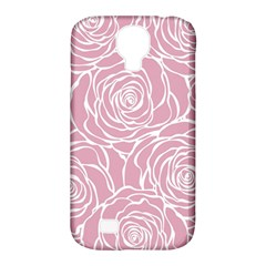 Pink Peonies Samsung Galaxy S4 Classic Hardshell Case (pc+silicone) by 8fugoso