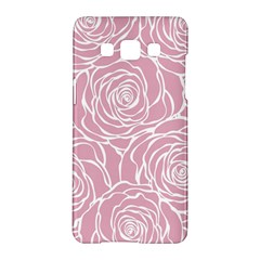 Pink Peonies Samsung Galaxy A5 Hardshell Case  by 8fugoso