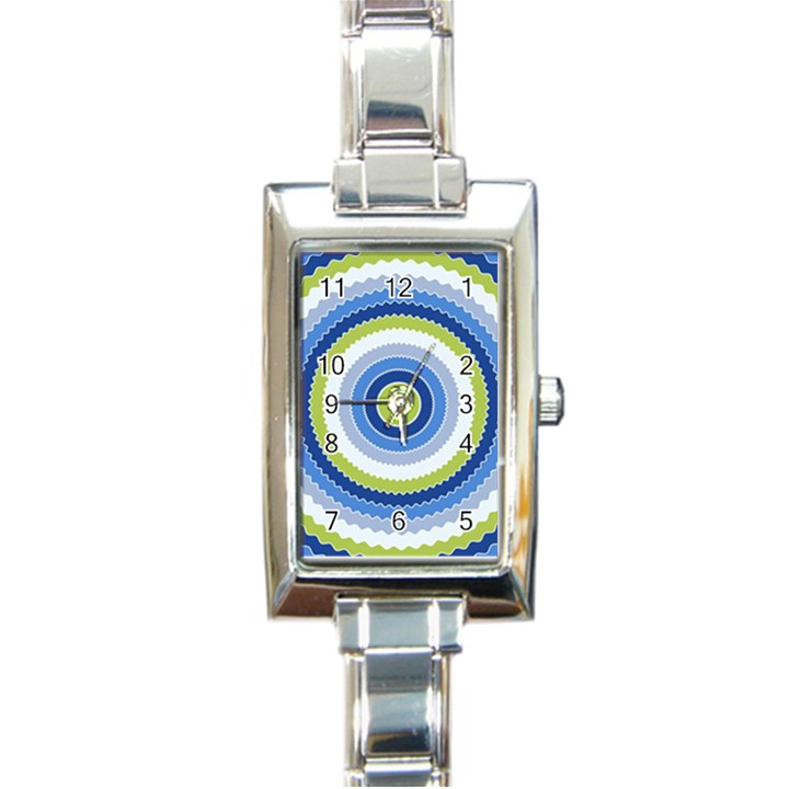 Oracle 01 Rectangle Italian Charm Watch