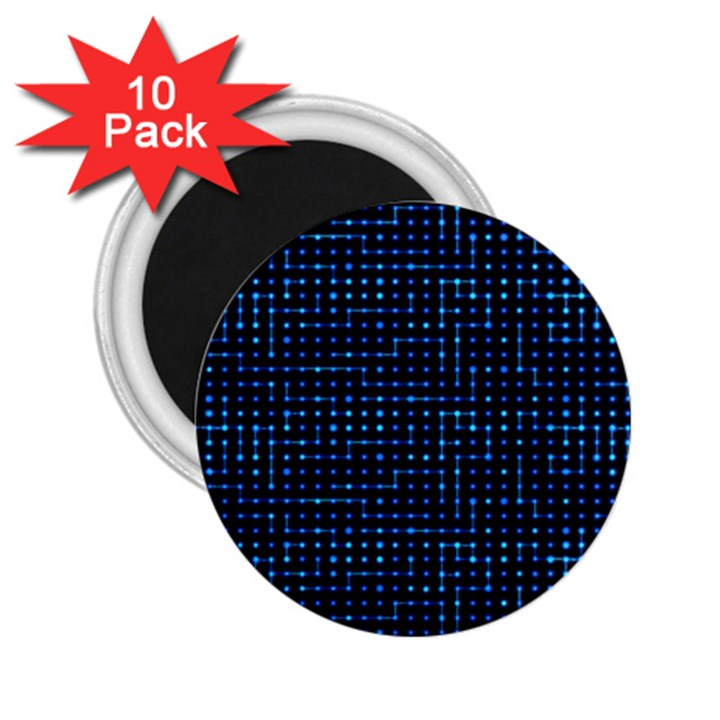 Sci Fi Tech Circuit 2.25  Magnets (10 pack)