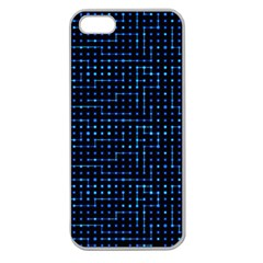 Sci Fi Tech Circuit Apple Seamless Iphone 5 Case (clear) by jumpercat