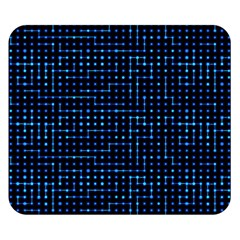 Sci Fi Tech Circuit Double Sided Flano Blanket (small)