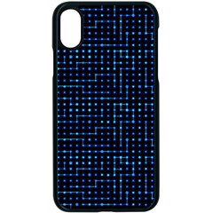 Sci Fi Tech Circuit Apple Iphone X Seamless Case (black) by jumpercat