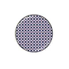Kaleidoscope Tiles Hat Clip Ball Marker (4 Pack) by jumpercat