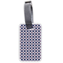 Kaleidoscope Tiles Luggage Tags (one Side)  by jumpercat