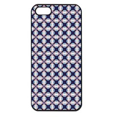 Kaleidoscope Tiles Apple Iphone 5 Seamless Case (black)