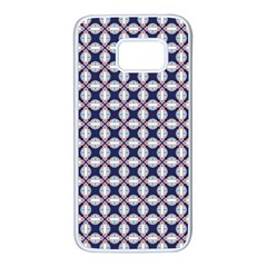 Kaleidoscope Tiles Samsung Galaxy S7 White Seamless Case