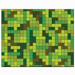 Tetris Camouflage Forest Canvas 8  X 10  by jumpercat