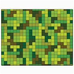 Tetris Camouflage Forest Canvas 11  X 14   by jumpercat