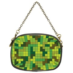 Tetris Camouflage Forest Chain Purses (two Sides)  by jumpercat