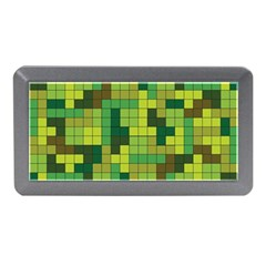 Tetris Camouflage Forest Memory Card Reader (mini) by jumpercat