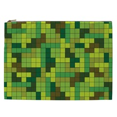 Tetris Camouflage Forest Cosmetic Bag (xxl)  by jumpercat