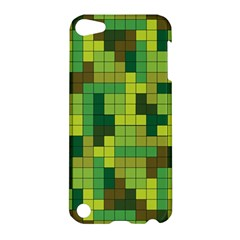 Tetris Camouflage Forest Apple Ipod Touch 5 Hardshell Case by jumpercat