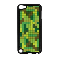 Tetris Camouflage Forest Apple Ipod Touch 5 Case (black) by jumpercat