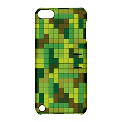 Tetris Camouflage Forest Apple Ipod Touch 5 Hardshell Case With Stand by jumpercat