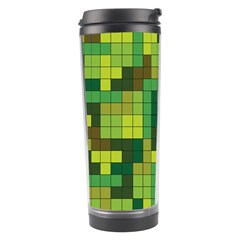 Tetris Camouflage Forest Travel Tumbler by jumpercat
