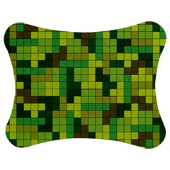 Tetris Camouflage Forest Jigsaw Puzzle Photo Stand (bow) by jumpercat