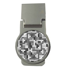Tetris Camouflage Urban Money Clips (round)  by jumpercat