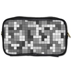 Tetris Camouflage Urban Toiletries Bags 2 Side by jumpercat