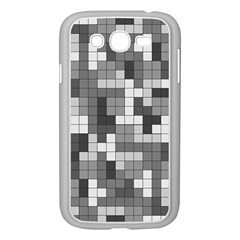 Tetris Camouflage Urban Samsung Galaxy Grand Duos I9082 Case (white) by jumpercat