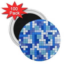 Tetris Camouflage Marine 2 25  Magnets (100 Pack)  by jumpercat